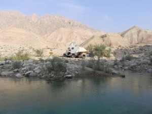 Pool im Iran